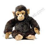 Anima Peluche Ushuaïa - Chimpanzé 28 cm
