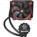 Thermaltake Water 3.0 Riing Red 140 - Kit de Watercooling pour processeur avec ventilateur PWM 140 mm