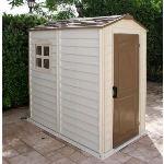 Duramax DUWS46PR - Abri de jardin Woodstyle en PVC 2 m2