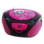 Techtraining 56049-INT - Lecteur CD Boombox Monster High