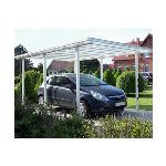 beckmann tradition carport en aluminium 3 08 x 4 96 x 2 22 m. Black Bedroom Furniture Sets. Home Design Ideas