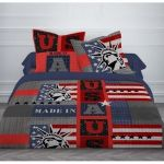 Today Made in USA - Housse de couette et 2 taies (220 x 240 cm)