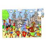 Vilac 2585 - Puzzle le château en valise (96 pièces)