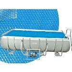 Intex K853BX - Bâche à bulles 9,60 x 4,70 m pour piscine tubulaire rectangulaire 9,75 x 4,88 m