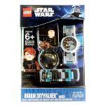 Lego 9002045 - Montre pour enfant Star Wars Anakin Skywalker avec jouet de construction