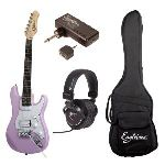 Eagletone Guitare électrique fille Sun State Mini 3/4 + Pluggy + Original First