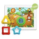 Tiggly Shapes - 4 formes en caoutchouc avec applications pour iPad (Convient aux enfants de 18 mois à 3 ans)
