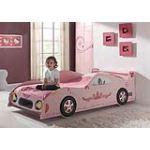 Someo Lizzy voiture - Lit pour fille 90 x 200 cm