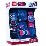 Lego 9001932 - Montre pour enfant Star Wars Darth Maul avec jouet de construction