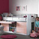 Vipack Lit combiné Bonny 95 pour enfant 90 x 200 cm