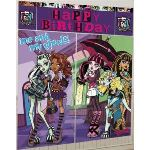 Amscan Poster Monster High Happy Birthday