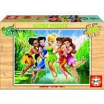Educa Puzzle en bois Disney Fairies: Dans les marais 100 pièces