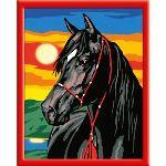 Ravensburger Numéro d'Art moyen format : Étalon noir