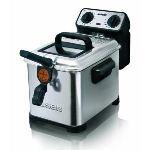 Seb FR404800 - Friteuse électrique Filtra Pro Inox & Design 1,3kg