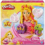 Hasbro Play-Doh - Tête à coiffer Raiponce