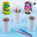 Baker Ross 6 pot à crayons à décorer