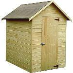 Decor et jardin 42410P000 - Abri de jardin en bois 12 mm 1,98 m2