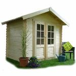 Solid S8381 - Abri de jardin Cholet en bois 28 mm 3,74 m2