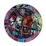 8 assiettes Monster High (23 cm)