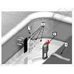 Procopi Delta Lock - 3 enjoliveurs d'accroche pour couverture de piscine