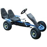 VidaXL Kart à pédales 2 places