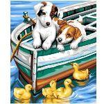 Oz international Peinture au numéro - Débutants : Les petits curieux