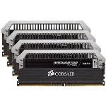 Corsair CMD16GX4M4A2666C15 - Barrette mémoire Dominator Platinum 16 Go (4x 4 Go) DDR4 2666 MHz CL15