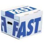 Fast 4 containers archives Flash Cube en carton (35 x 35 x 28 cm)