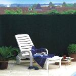 Intermas Gardening 174185 - Maille plastique Tandem occultation 100 % pour clôture 5 x 1,5 m