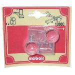 Mobois 2 adaptateurs pour tringle chemin de fer