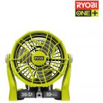 Ryobi OnePlus R18F-0 - Ventilateur de sol 2 vitesses