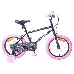 Injusa 1633 - Vélo fille Hello Kitty noir 16""