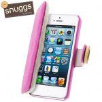 Snuggs 730849 - Étui Folio pour iPhone 5 et 5S
