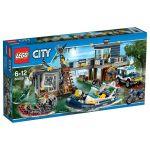 Lego 60069 - City : Le poste de police des marais