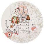 La Chaise Longue Plat à gâteau Parisiennes