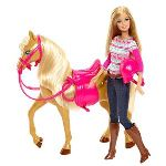Mattel Barbie et son cheval (BJF78)