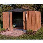 Chalet et Jardin BM 1010 - Abri de jardin en métal aspect bois 9,30 m2