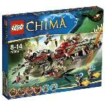 Lego 70006 - Legends of Chima : Le croc navire de Cragger