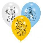 Riethmüller 6 ballons Schtroumpf