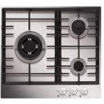 Airlux AT635HIX - Table de cuisson gaz 3 foyers