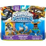 Activision Pack figurines Skylanders : Spyro's Adventure - Pirate Seas : Terrafin + Bateau Pirate + Trésor Caché + Epée pirate