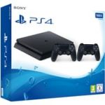 Sony Console PS4 Slim 500 Go + 2 Manettes