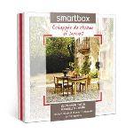 Smartbox Echappée de charme et saveurs - Coffret cadeau séjour