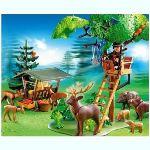 Playmobil 4208 - Garde forestier avec animaux et poste de guet