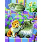 Oz international Peinture au numéro duo : Chatons