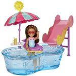 Mattel Barbie Chelsea et sa piscine
