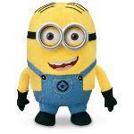 Thinkway Toys Peluche Moi, moche et méchant 2 : Minion Dave 23 cm