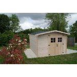 Foresta Vidra VD 3330.02 N - Abri de jardin en bois 28 mm 8,70 m2