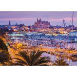 Schmidt Palma de Majorque, vieille ville et port - Puzzle 1000 pièces