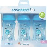 Bébé Confort 3 biberons Maternity en polypropylène 270 ml avec tétine en silicone T1